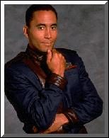 Richard Biggs, a.k.a. Dr. Stephen Franklin